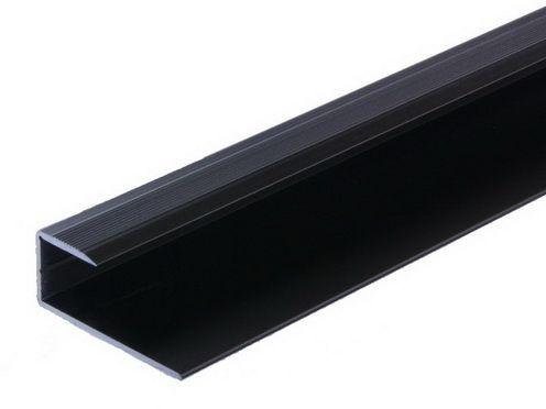 abschlussprofil alu bronze f r laminat 7 9mm 2700 ebay. Black Bedroom Furniture Sets. Home Design Ideas