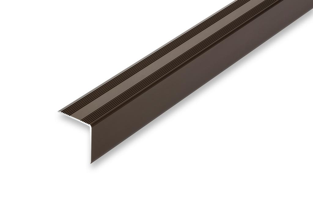 Kantenwinkel ungebohrt 30 x 32 x 1000 mm Treppenwinkel 30 x 32 x 1000 mm 6 Farben ungebohrt-selbstklebend , schwarz selbstklebend gebohrt Kantenschutz Treppenkantenprofil