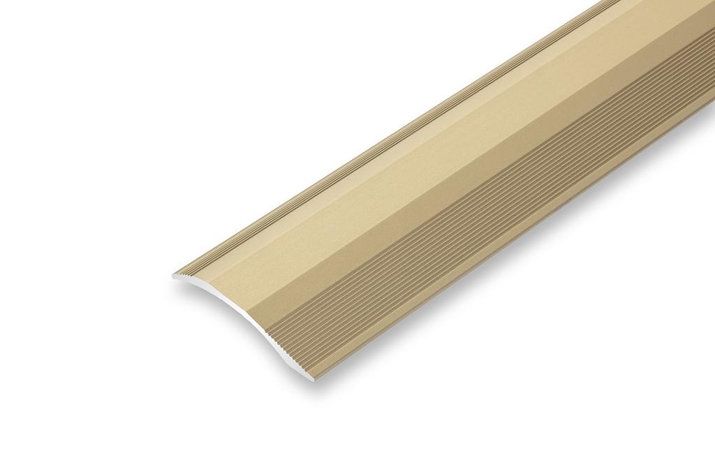 H/öhenausgleich von 2-20 mm 1000 mm, gold Rampenprofil Ausgleichsprofil 45 x 1000 mm gebohrt unterschiedliche H/öhen Anpassungsprofil H/öhenausgleichsprofil /Übergangsprofil flexibel